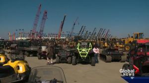 Alberta's capital hosts massive auction event