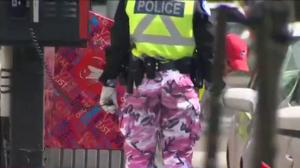 Legislation would end Montreal police pants protest