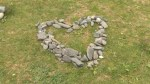 University student grows rock garden of love
