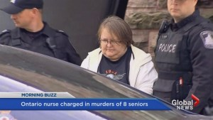 Nurse accused of killing eight elderly patients