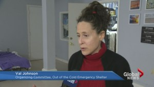 Less fortunate search for shelter during winter storm