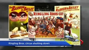 Ringling Bros. shutting down