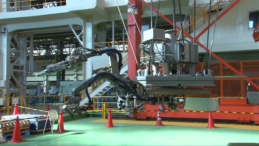 Fukushima cleanup chief calls for better use of cleaner robot