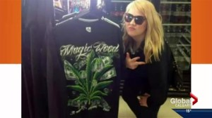 Petitions call for NDP MLA to resign in wake of pot T-shirt, Canada flag flip off posts