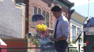 'We're all pulling together': PM Trudeau visits Revelstoke, BC pledging support for wildfires
