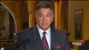 Finance Minister Charles Sousa re-introduced legislation that he says will cut auto insurance premiums by 15 per cent.