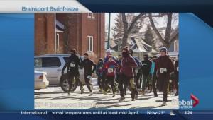Brain freeze run in Saskatoon