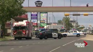 Huge police response to a suspicious package in northeast Calgary