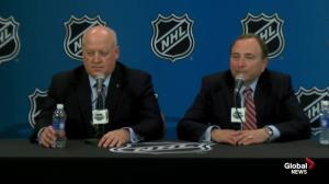 NHL commissioner on interest for expansion in Toronto