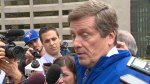 Mayor John Tory says he will not endorse a party for upcoming election