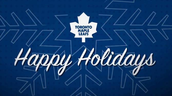 WATCH Maple Leafs Attempt To Sing Jingle Bell Rock In