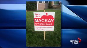 Halifax municipal election candidates say signs are being stolen, vandalized