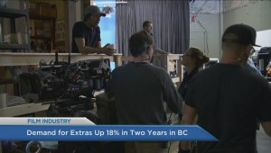 Demand for movie extras up 18% in two years