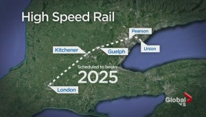 Ontario Liberals announce $15M study for high-speed rail between Toronto, Windsor