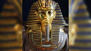 Botched emergency repair job to King Tut's mask causing controversy