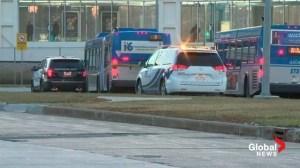 Raw video: Coliseum Transit Centre assault