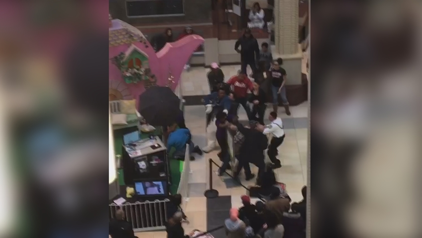 Easter bunny involved in brawl at New Jersey mall