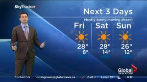 Saskatoon weather outlook – July 31