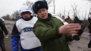 OSCE investigates what Russian backed rebels call 'war crime' in Ukraine
