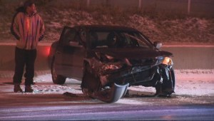 Icy road conditions lead to collisions across the GTA