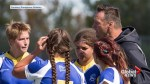 Past 'Horn greats take over women's Rugby program