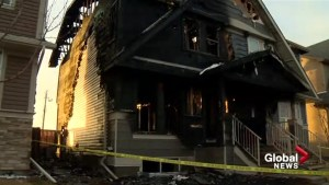 House destroyed by fire in Calgary's Cranston neighbourhood