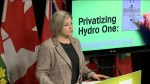 NDP says Kathleen Wynne was not upfront about privatizing Hydro One