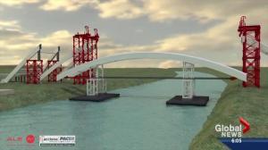 Careful consideration goes into raising arches on Walterdale Bridge