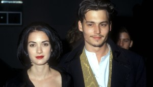 """Winona Ryder, Johnny Depp's  ex-fiancé, says it's """"hard to picture"""" abuse allegations"""