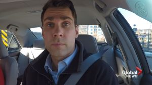 Jordan Witzel learns what it takes to drive a taxi in Calgary
