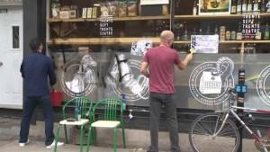 Anti-gentrification protesters target Saint-Henri shop