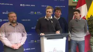 Premier Gallant says safety is the focus, not the cost in ice storm cleanup