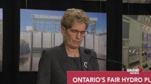 Kathleen Wynne explains why hydro rates have risen to such high levels