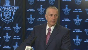 Canucks-Flames game 1: Bob Hartley post-game