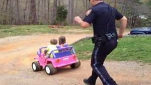 Cop's 'Too Cute' arrest goes viral
