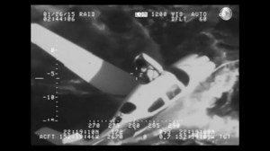 Pilot survives after being forced to ditch plane in Pacific Ocean
