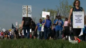 OSSTF announces Durham, Peel, Rainbow district school boards will resume strike on June 10
