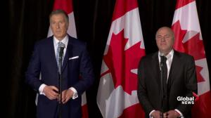 O'Leary says not speaking French didn't make him drop out of race