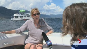 Okanagan Lake world record attempt