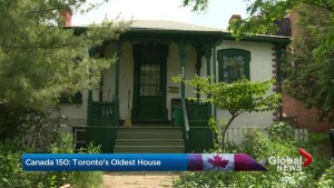 Canada 150: Toronto's oldest house