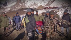 Rescue efforts continue in Nepal, more than 200 saved so far