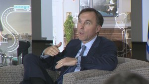 Minister Bill Morneau takes plan for strong middle class to Dieppe