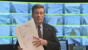 Mayor Tory wants to reschedule events to avoid traffic congestion