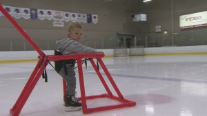 Sackville, N.B. couple takes their learn-to-skate harness to market