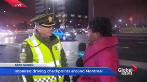 Quebec police forces warn against DUI
