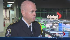Halifax Police Chief talks about Thursday's search