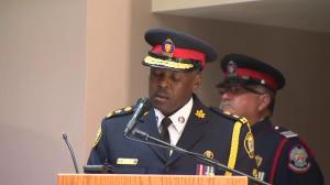 Chief Saunders takes on new challenges to protect the city of Toronto