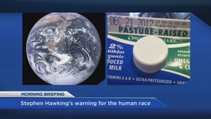 McArthur's Morning Briefing: Hawking warns us to leave Earth