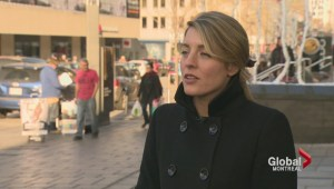 Mélanie Joly on Syrian refugees
