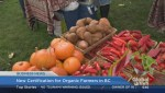 BIV: New certification for organic farmers in B.C.